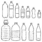 Fotografia bottiglie di plastica