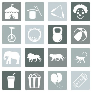 Set of Circus Icons