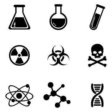 Set of Chemistry Icons.