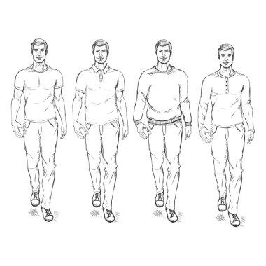 Fashion Male Models