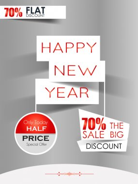 Flyer for New Year offer