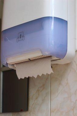 Dispenser for toilet paper