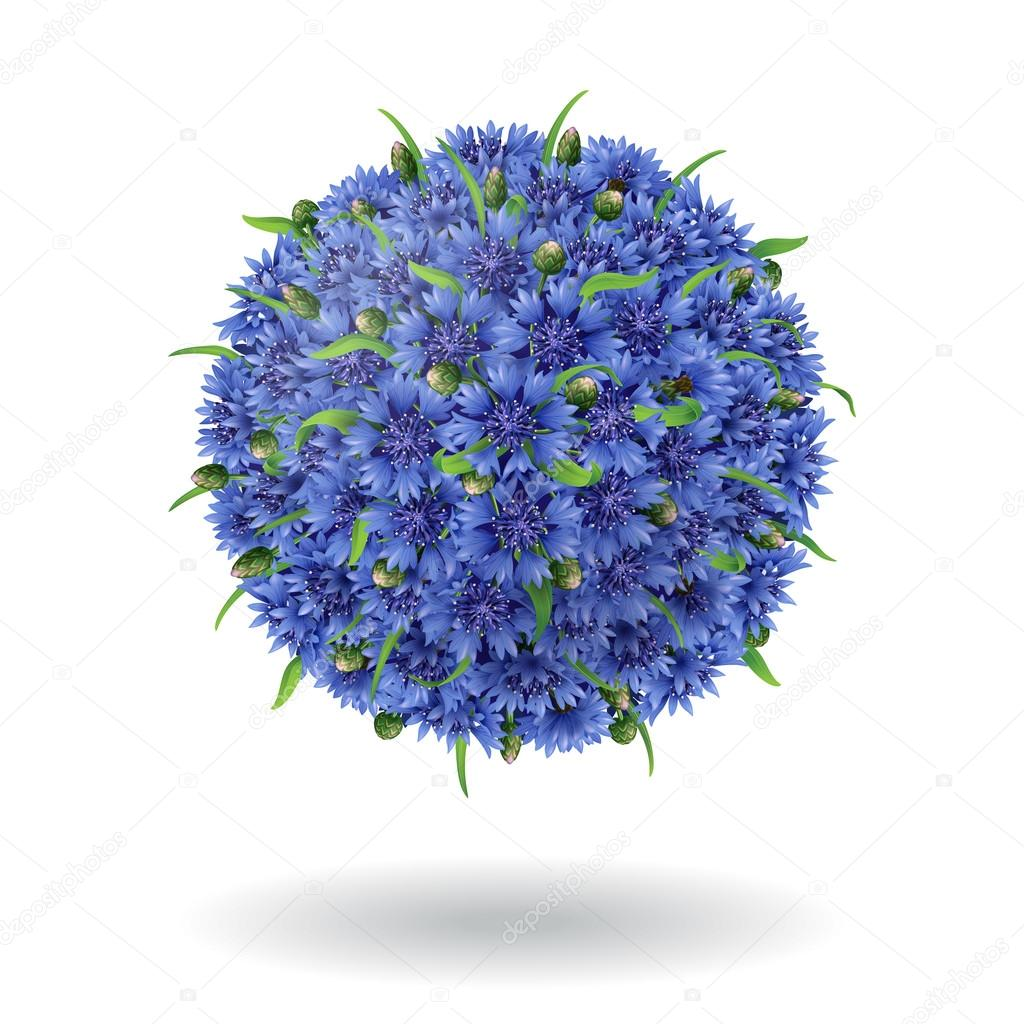 Floral ball