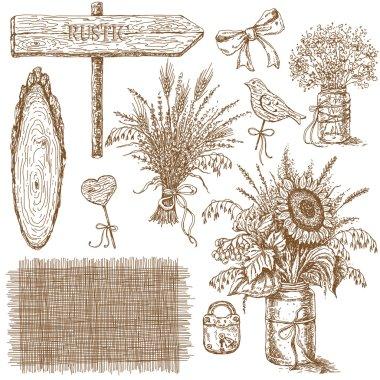 Rustic Wedding Design Elements