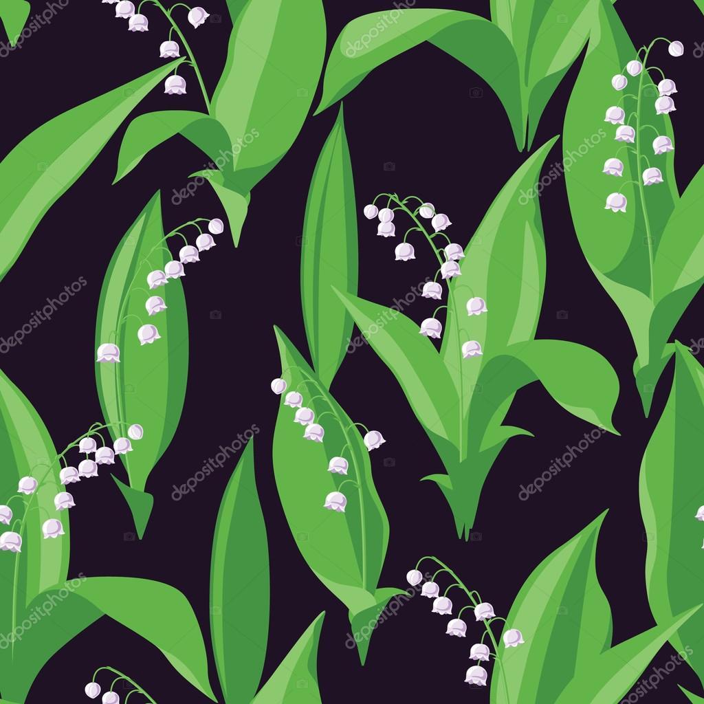 Lily of the Valley Pattern.