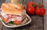 Fresh Ham and Cheese Sandwichs