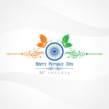 Republic Day greeting card