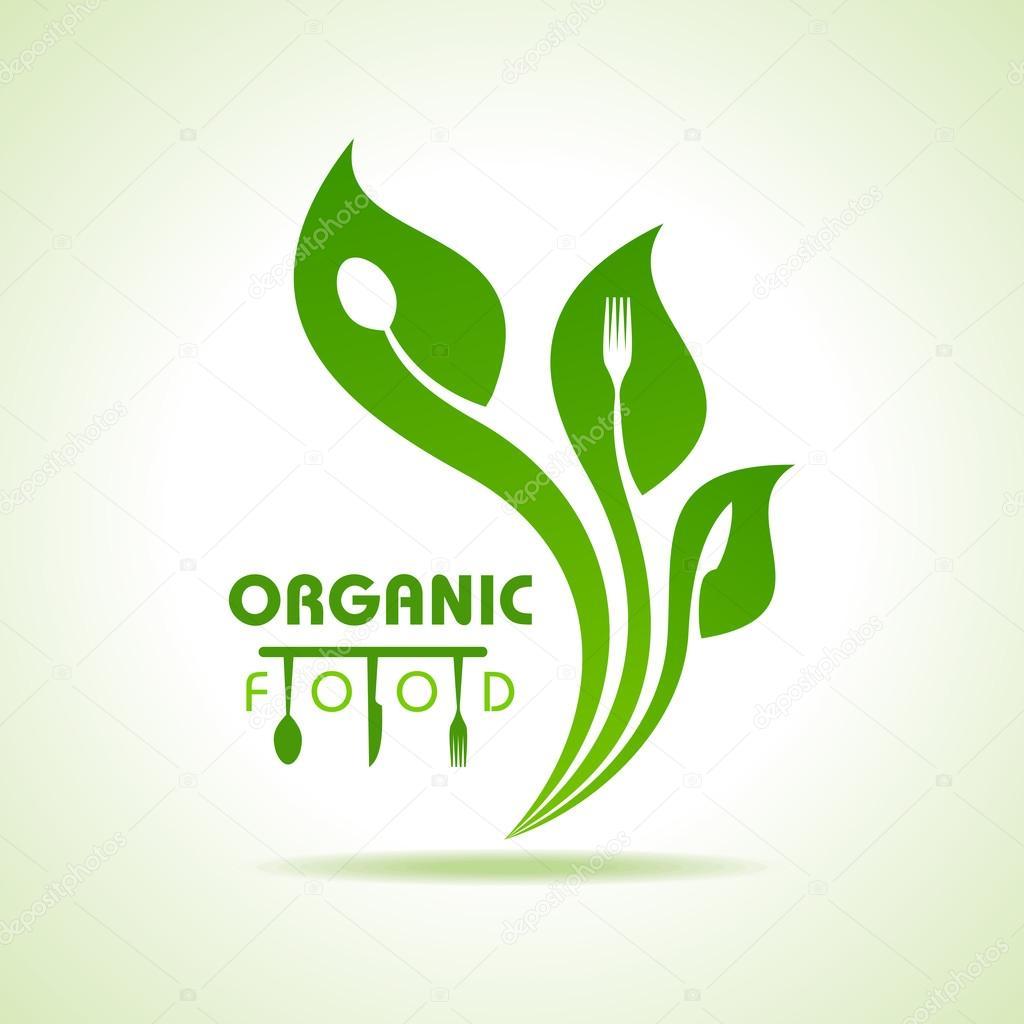 Organic food icon — Stock Vector © graphicsdunia4u #65456425
