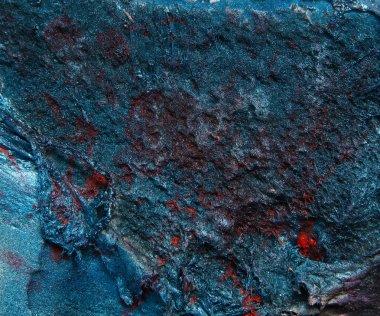 Dark blue stone texture