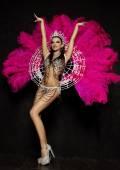 Fényképek nő a karneváli ruha