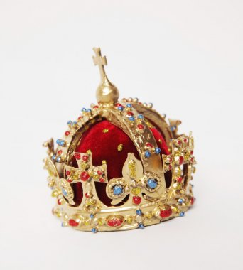 Royal Gold Crown with gems