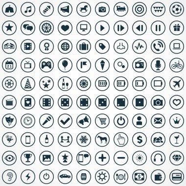 100 entertainment icon