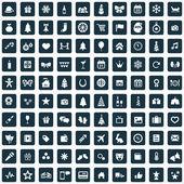 Fényképek 100 új év ikon