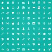 Fotografie 100 Neujahrs-Symbol