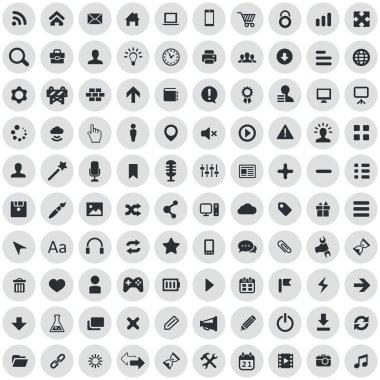 100 webdesign icon