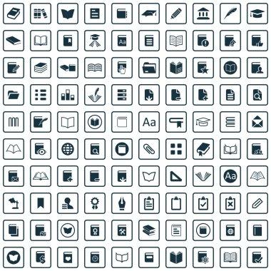 100 books icon