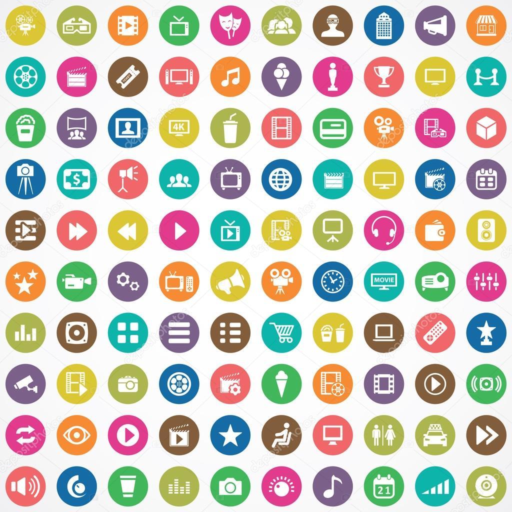 100 cinema icons