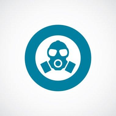 respirator icon bold blue circle border