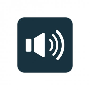 sound icon Rounded squares button