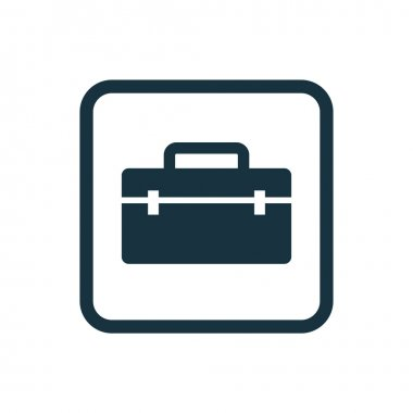 tools box icon Rounded squares button