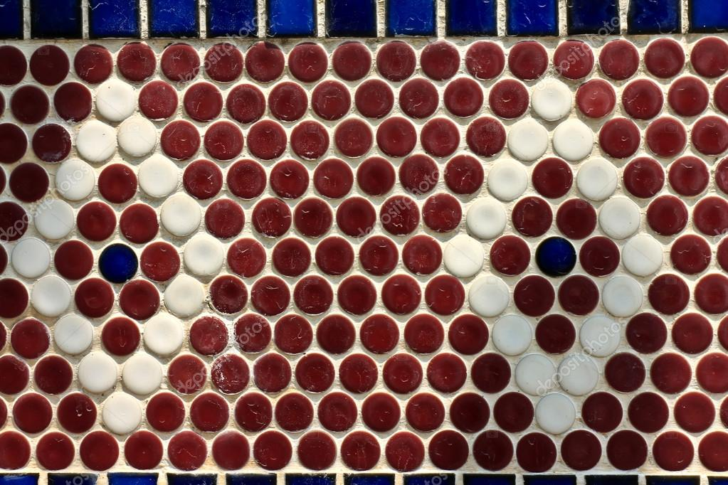 Piastrelle di ceramica vintage colorata decorazione murale u foto