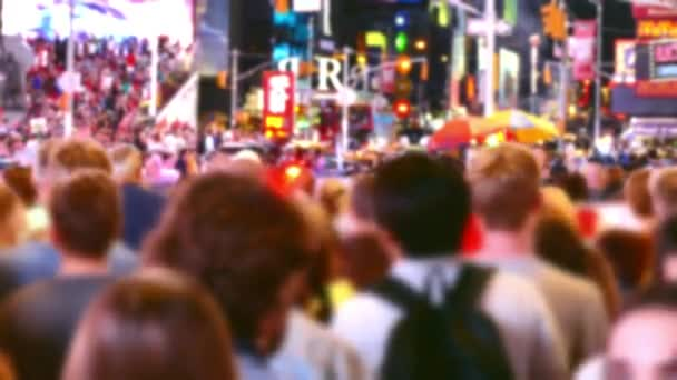 Crowd in New York City,  Street Times Square