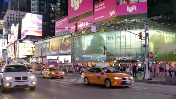 provoz na Times Square