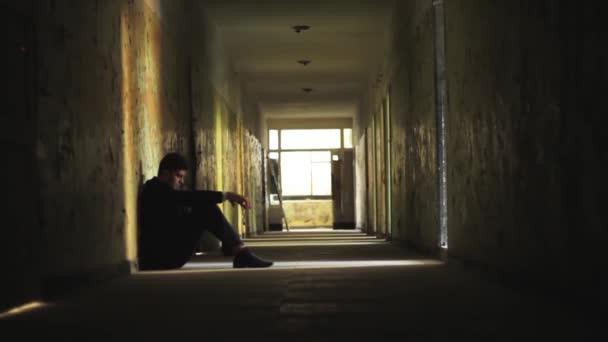 Stress Man Suit Depression Business Failure Concept HD