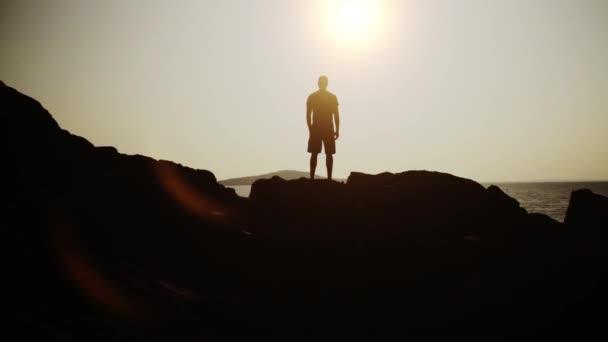 Vítězství pozice moře při západu slunce Hd