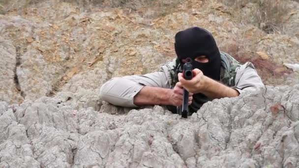 Válka teroristických Assasin anarchistické střelba