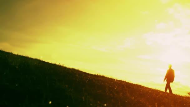 Career Concept Success Climb Silhouette Sunset