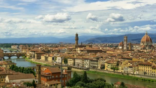 Day to Night Timelapse Summer Art Travel Duomo Cathedral Italy Dome Florence Architecture City Tuscany Cityscape Italian Maria Church Renaissance Fiore Europe View Firenze Santa Landscape Basilica Famous Old Medieval Landmark Del Scenic Aerial Dusk