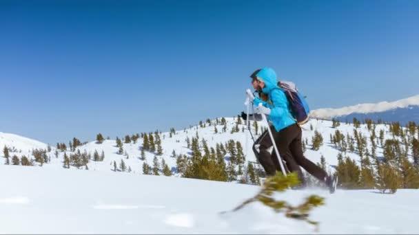 Person Sport Couple Man Nature Winter Sun Snow Ice Climber Mountaineering Hiking Climbing Trekking Cold Mountain Adventure Climb Travel Extreme Hiker Woman High Altitude Summit Peak