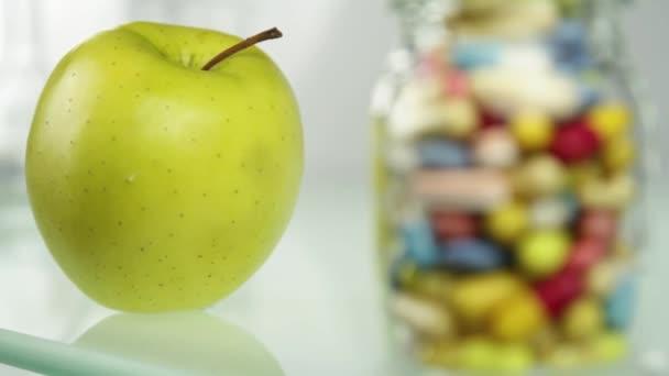 Fresh fruit or pills