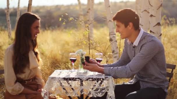 Házassági ajánlatát, a természet