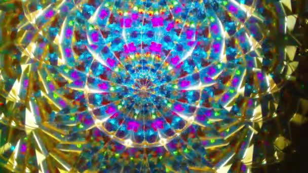 Real kaleidoscope background (no digital effect)