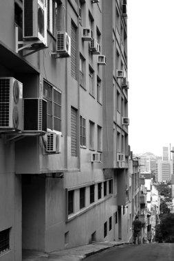 The streets of Porto Alegre
