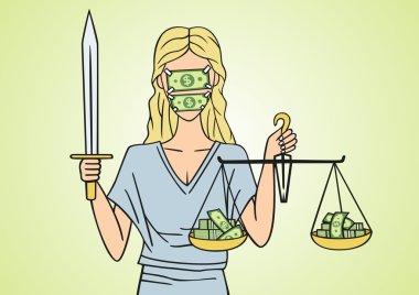 Corrupt justice.