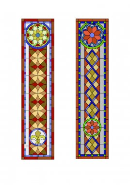 Stained glass  pattern