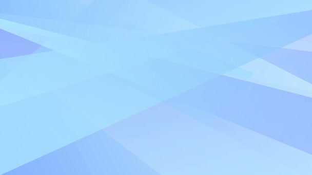 Animated abstract geometric blue background. Looped video. Vector illustration.