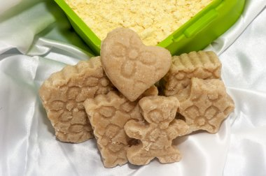 Biolagical home made soap chickpea flour