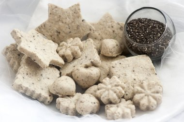 Biolagical home made soap to chia seeds