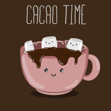 hot cacao with marshmallows