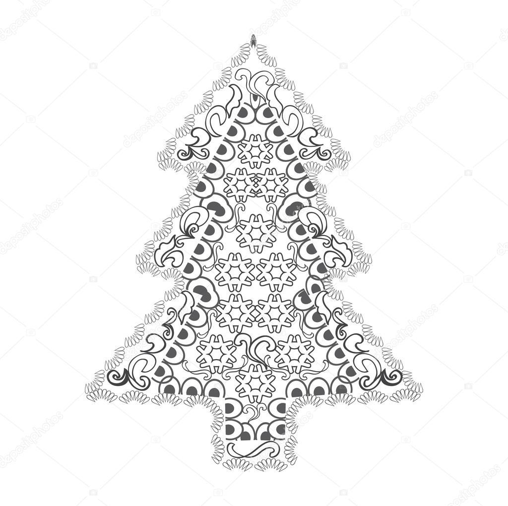 Arbol de navidad zen