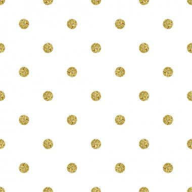 Dotted seamless  glitter pattern.
