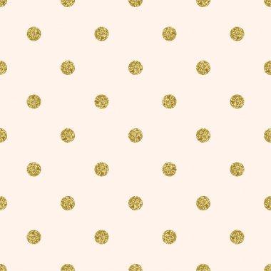 Dotted seamless  glitter pattern