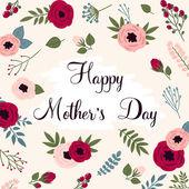 šťastné matky den karta