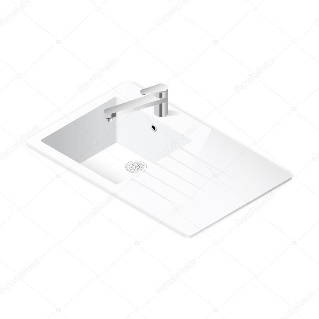 Küche Spüle isometrische Symbol — Stockvektor © equipoise #90750228