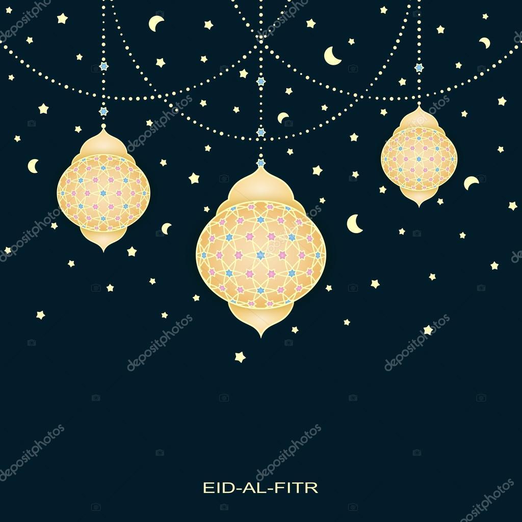 Good Traditional Eid Al-Fitr Decorations - depositphotos_113467324-stock-illustration-eid-al-fitr-background-with  Pic_677339 .jpg