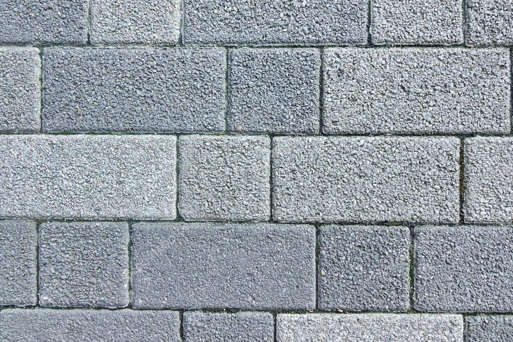 Patio piso o pavimento de ladrillo de concreto bloks fondo - Patio piso de ladrillo ...